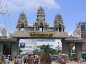 タイ側から見た国境