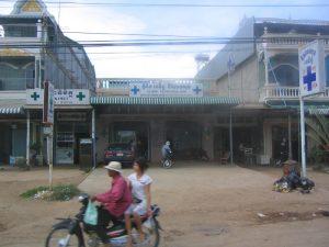 国境の町、カンボジアのポイペト