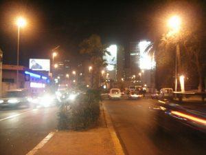 夜のカサブランカ