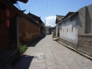 麗江古城内部