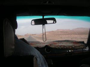 タクシーの車窓から