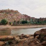 ワルザザートからサハラ砂漠への旅路