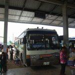 ウドムサイからルアンパバーンへのバスの旅