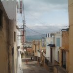 サハラ砂漠から来た道を戻り地中海の街タンジェまで北上した際の日記