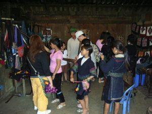 観光地化していたカットカット村