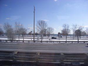 ナイアガラまでのバスの車窓から